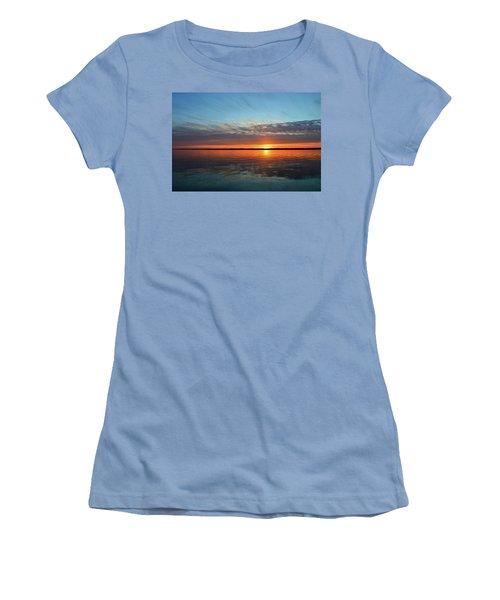 8.57 Pm June 8-2017  Women's T-Shirt (Junior Cut) by Lyle Crump