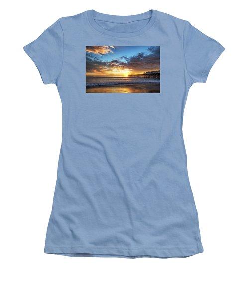 A Crystal Sunset Women's T-Shirt (Junior Cut)