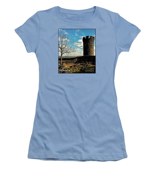 A Day At  Craigs  Castle   Women's T-Shirt (Athletic Fit)