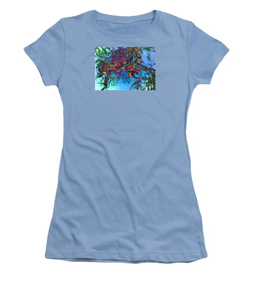 A Fabric Of Illusion Women's T-Shirt (Junior Cut) by Roselynne Broussard