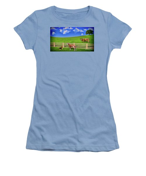 A Field Women's T-Shirt (Athletic Fit)