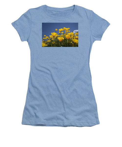 A Little Sunshine  Women's T-Shirt (Junior Cut) by Lucinda Walter