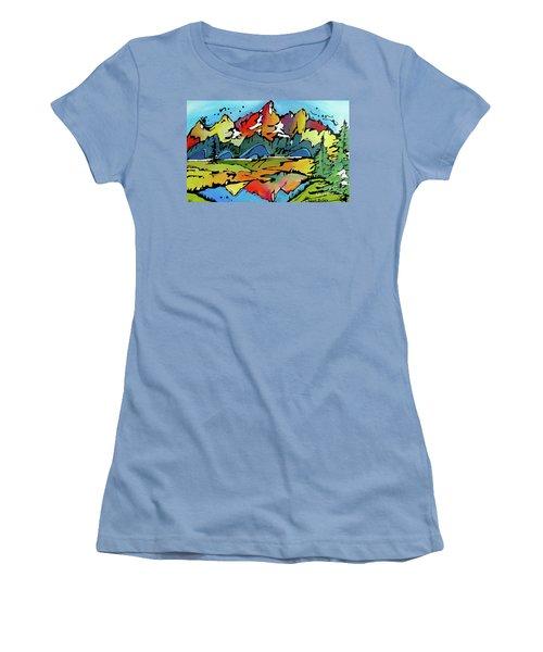 A Memory Women's T-Shirt (Junior Cut) by Nicole Gaitan