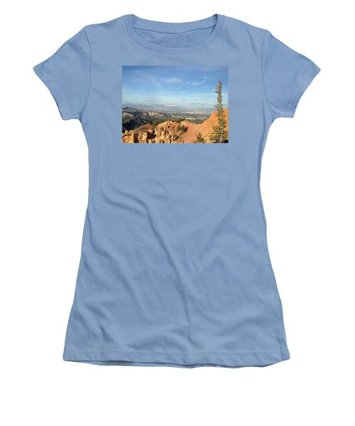 A Perfect Spot At Bryce Canyon Women's T-Shirt (Athletic Fit)