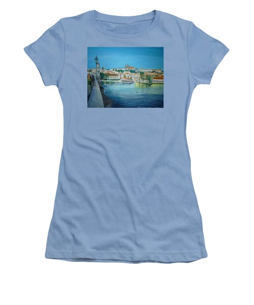 A Scene In Prague 3 Women's T-Shirt (Athletic Fit)