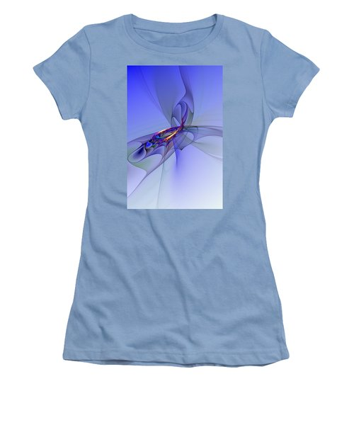 Abstract 110210 Women's T-Shirt (Athletic Fit)