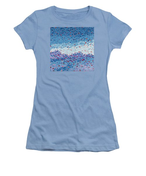 Abstract Landscape Painting 1 Women's T-Shirt (Athletic Fit)
