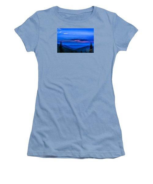 After Sunset Women's T-Shirt (Junior Cut) by Thomas R Fletcher