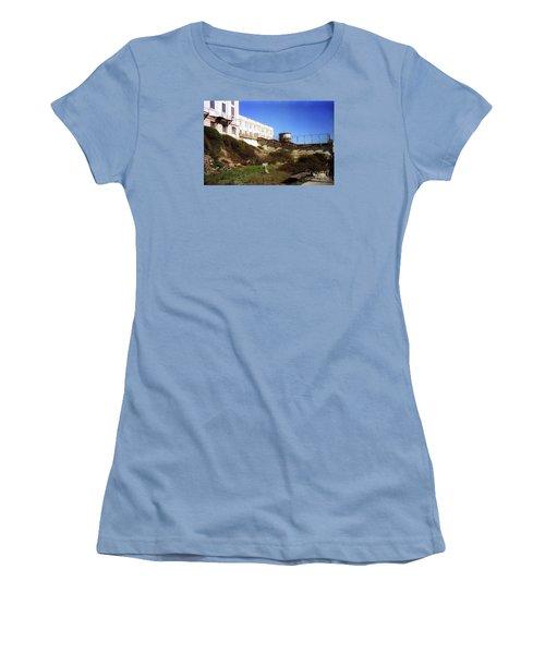 Alcatraz Water Tank Prison  Women's T-Shirt (Athletic Fit)