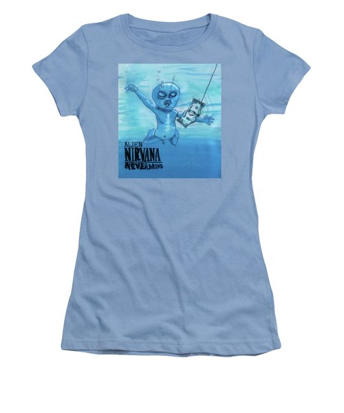 Alien Nevermind Women's T-Shirt (Junior Cut)