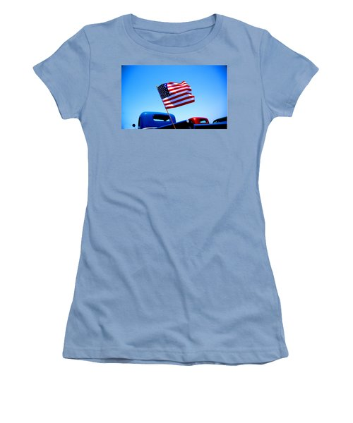 All American Women's T-Shirt (Junior Cut) by Ralph Vazquez
