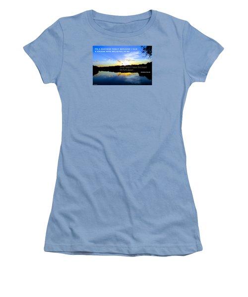 Women's T-Shirt (Junior Cut) featuring the photograph Allies by David Norman