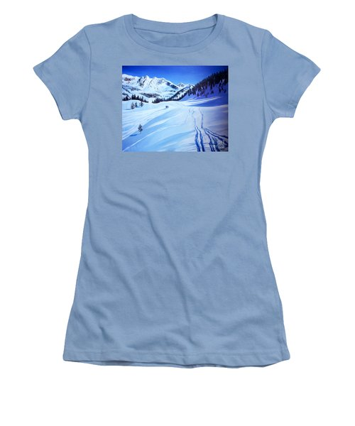 Alps Women's T-Shirt (Athletic Fit)