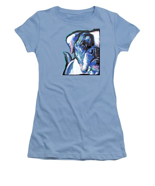 Am An American  Sweet Bully Women's T-Shirt (Athletic Fit)