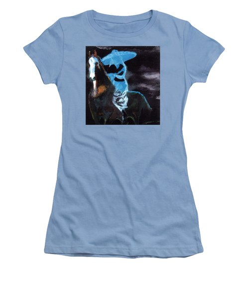 Amazzone Notturna Women's T-Shirt (Athletic Fit)