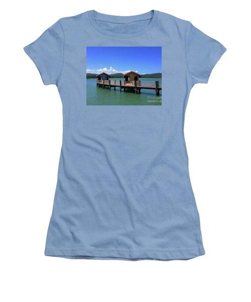 Amberhuts Women's T-Shirt (Athletic Fit)