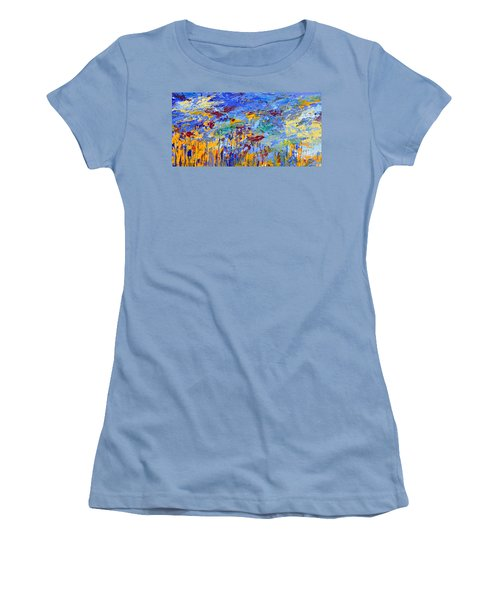 An Abstract Vision Under The Sea Women's T-Shirt (Athletic Fit)
