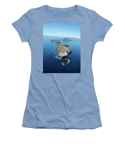 Anacapa Island Women's T-Shirt (Athletic Fit)