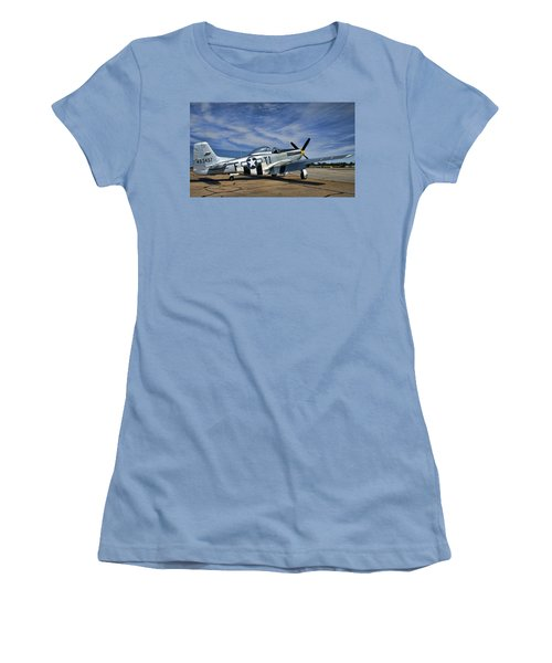 Angels Playmate  Women's T-Shirt (Athletic Fit)