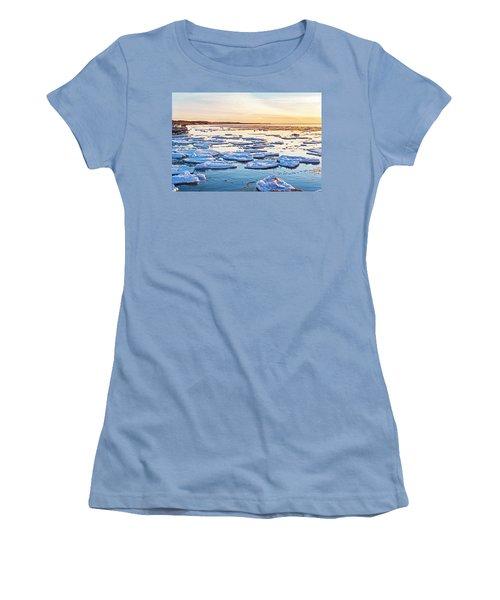 April Sunset Women's T-Shirt (Athletic Fit)