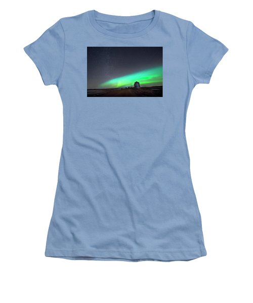 Arc Of The Aurora Women's T-Shirt (Athletic Fit)