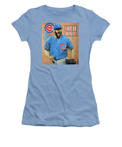 Arrieta No Hitter - Vol. 1 Women's T-Shirt (Junior Cut) by Melissa Goodrich
