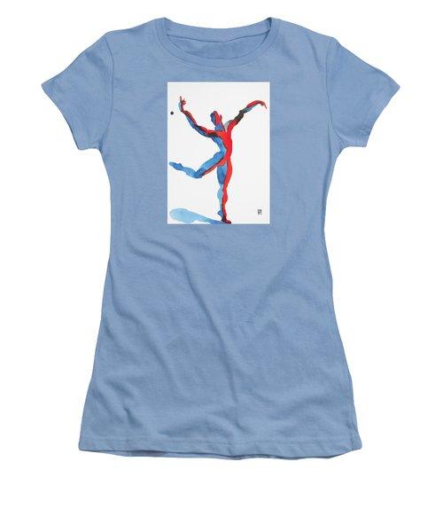 Ballet Dancer 3 Gesturing Women's T-Shirt (Junior Cut) by Shungaboy X