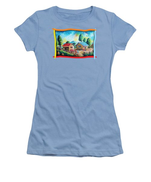 Hanging Around Women's T-Shirt (Athletic Fit)