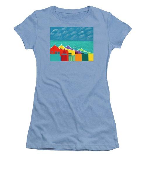 Aruba Fantasy  Women's T-Shirt (Athletic Fit)