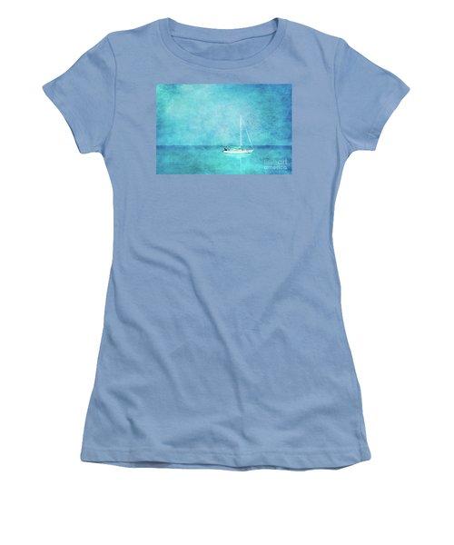 At Anchor Women's T-Shirt (Junior Cut) by Betty LaRue