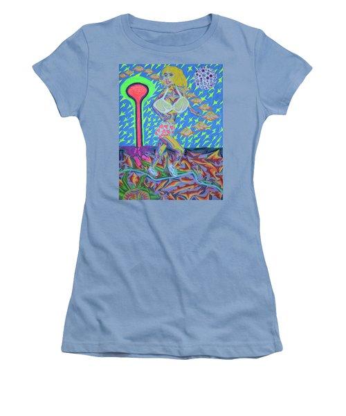 Attaque Des Bombes Sexuelles Women's T-Shirt (Junior Cut) by Robert SORENSEN