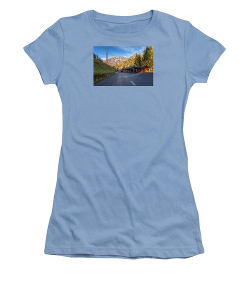 Autumn In Slovenia Women's T-Shirt (Athletic Fit)
