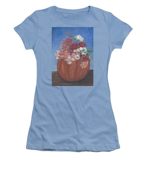 Autumn Petals Women's T-Shirt (Athletic Fit)