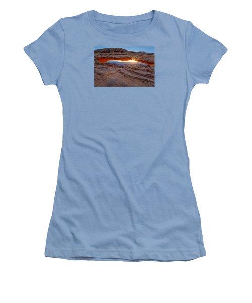 Awakening At Mesa Arch Women's T-Shirt (Athletic Fit)
