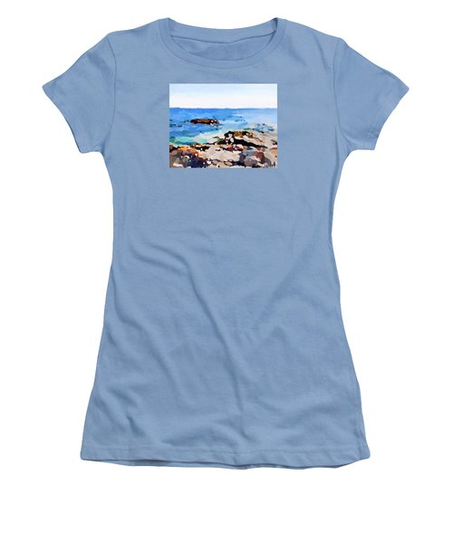 Back Shore, Gloucester, Ma Women's T-Shirt (Athletic Fit)