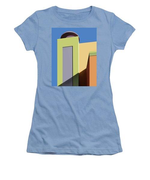 Back To The Market Women's T-Shirt (Junior Cut) by Nikolyn McDonald