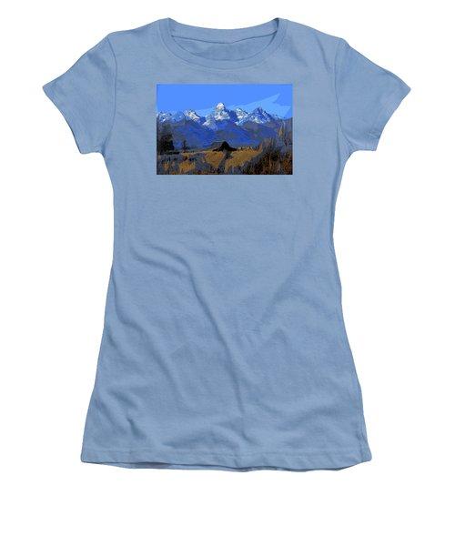 Backdrop Women's T-Shirt (Athletic Fit)