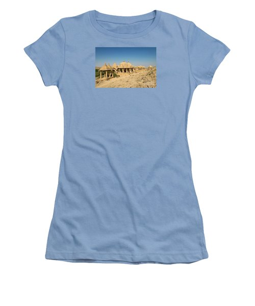 Women's T-Shirt (Athletic Fit) featuring the photograph Bada Bagh Of Jaisalmer by Yew Kwang