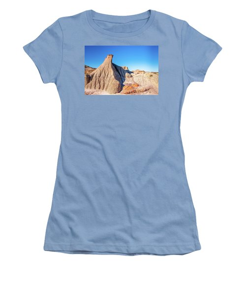 Badlands Formations Women's T-Shirt (Athletic Fit)