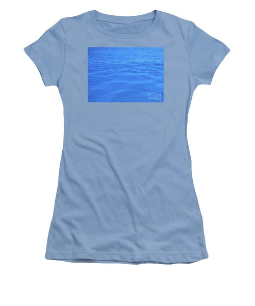 Bahama Blue Women's T-Shirt (Athletic Fit)