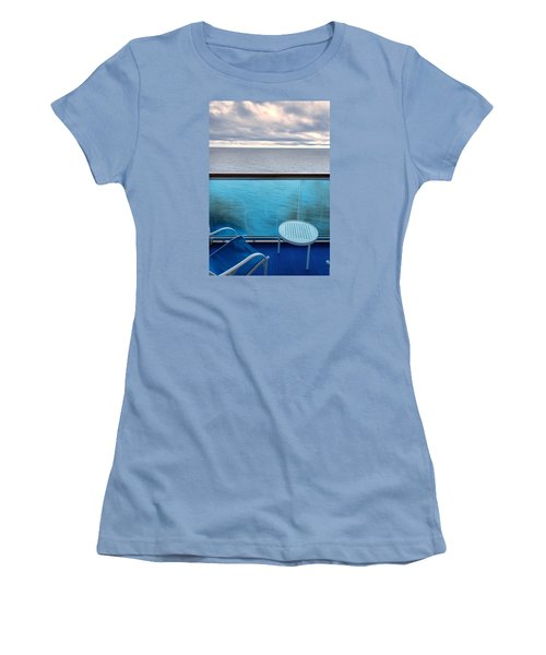 Balcony View Women's T-Shirt (Junior Cut) by Lewis Mann