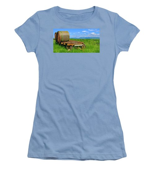 Bales At Rest Women's T-Shirt (Athletic Fit)
