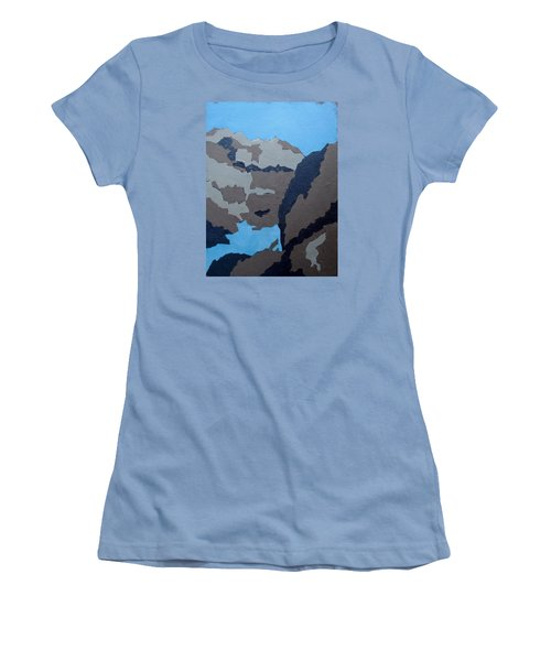 Barker Dam Abstract Women's T-Shirt (Athletic Fit)