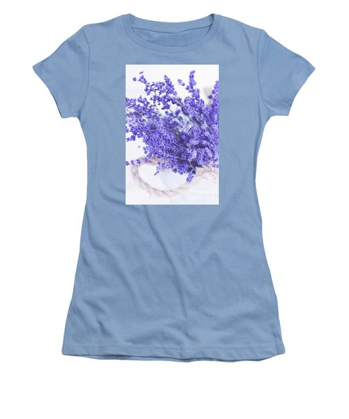 Basket Of Lavender Women's T-Shirt (Athletic Fit)