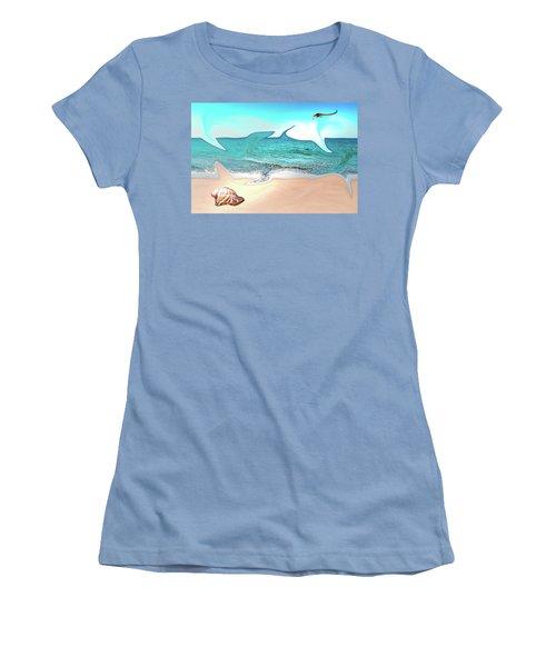Beach Dream Women's T-Shirt (Athletic Fit)