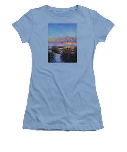 Beach Escape Women's T-Shirt (Athletic Fit)