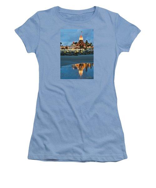 Beach Lights Women's T-Shirt (Athletic Fit)