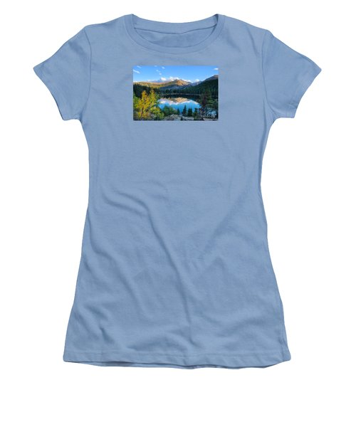 Bear Lake Reflection Women's T-Shirt (Athletic Fit)