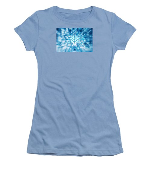Beautiful Christmas Background Women's T-Shirt (Athletic Fit)