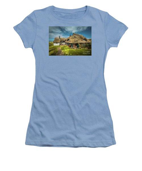 Beautiful Cottage Women's T-Shirt (Junior Cut) by Eva Lechner
